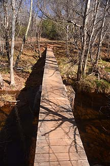 Black Hawk Crossing, Red Rock State Park, February 9, 2012
