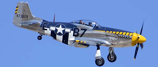 North American P-51D Mustang N51JB Bald Eagle, Davis-Monthan Air Force Base, March 4, 2012