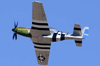North American P-51D Mustang N4151D Galveston Gal, Davis-Monthan Air Force Base, March 4, 2012