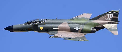 McDonnell-Douglas QF-4E Phantom II 72-1494 of the 82nd Aerial Target Squadron, Davis-Monthan Air Force Base, March 4, 2012