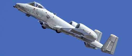 Fairchild-Republic A-10C Warthog 80-0278 of the 355th Fighter Wing, Davis-Monthan Air Force Base, March 4, 2012
