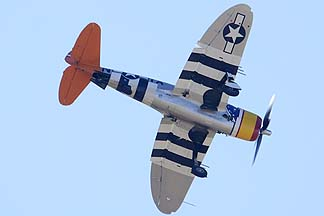 Republic P-47D Thunderbolt N4747P Tarheel Hal, Davis-Monthan Air Force Base, March 4, 2012