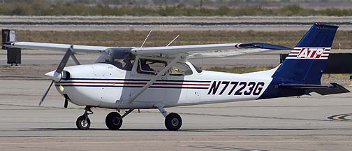 Airline Transport Professionals Cessna 172L N7723G, Mesa Gateway Airport, March 9, 2012