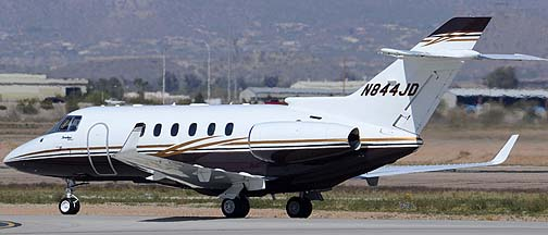 Hawker 900XP N844JD, Mesa Gateway Airport, March 9, 2012