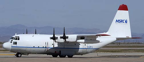 Marine Spill Response Corporation Lockheed C-130A Hercules N118TG, Mesa Gateway Airport, March 9, 2012