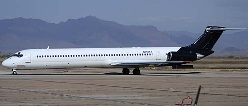 Falcon Air McDonnell-Douglas MD-83 N305FA, Mesa Gateway Airport, March 9, 2012