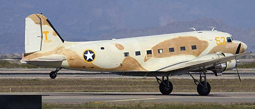 Commemorative Air Force Douglas C-47A Dakota N53ST, Mesa Gateway Airport, March 9, 2012