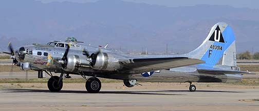 Boeing B-17G Flying Fortress N9323Z Sentimental Journey, Mesa Gateway Airport, March 9, 2012