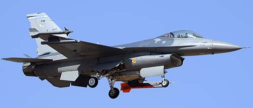 General Dynamics F-16C Block 25 Viper 84-1392 of the 62nd Fighter Squadron Spike, Mesa Gateway Airport, March 9, 2012