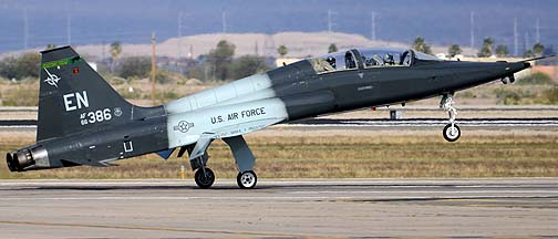 Northrop T-38A-65 Talon 66-4386 of the 90th Fighter Training Squadron Boxin' Bears, Mesa Gateway Airport, March 9, 2012
