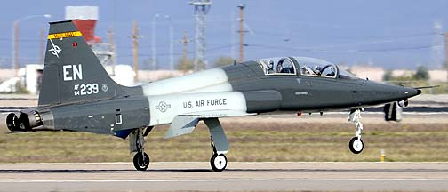 Northrop T-38A-60 Talon 64-13239 of the 90th Fighter Training Squadron Boxin' Bears, Mesa Gateway Airport, March 9, 2012