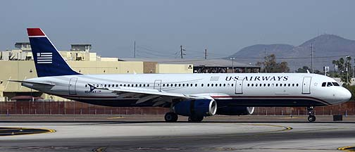 US Airways Airbus A321-231 N507AY at Phoenix Sky Harbor, March 30, 2012