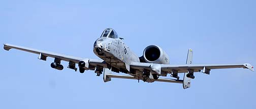 Fairchild-Republic A-10C Thunderbolt II 78-0671 of the 357th Fighter Squadron Dragons, Goldwater Range, May 3, 2012