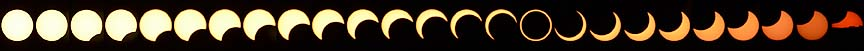 Annular Solar Eclipse, May 20, 2012