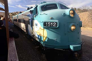 Verde Canyon Railroad, November 29, 2012