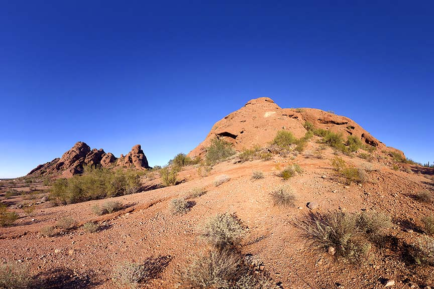 Papago Buttes, January 2, 2013