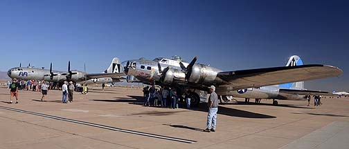 CAF B-29 Superfortress Fifi at Mesa Gateway, March 1, 2013
