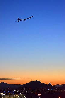 Solar Impulse, Sky Harbor International Airport, May 22, 2013