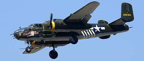 North American B-25J Mitchell N30801 Executive Sweet, August 17, 2013