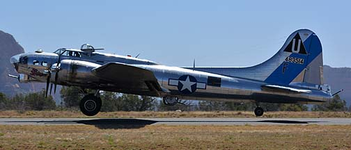 Boeing B-17G Flying Fortress N9323Z Sentimental Journey, Sedona, March 31, 2014