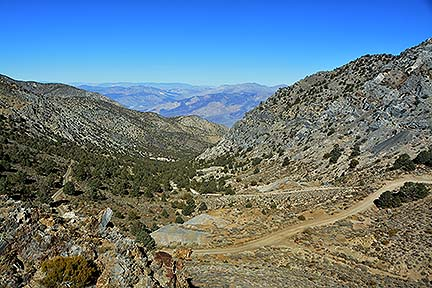 Inyo Mountains, November 16, 2014