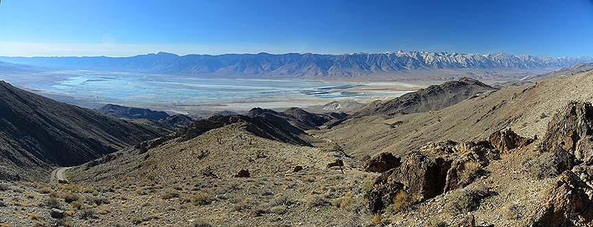 Owens Lake and the Sierra Nevada, November 16, 2014