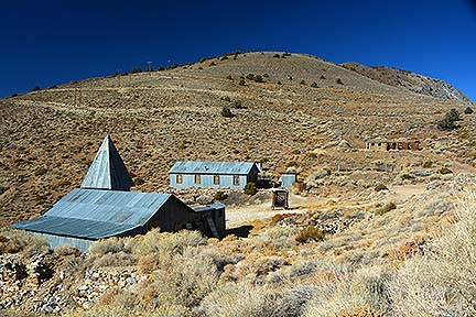 Cerro Gordo theater, November 16, 2014