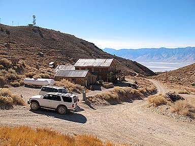 Landcruiser and 4Runner in the ghost town, November 17, 2014