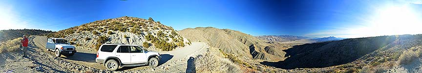 Panorama of the Panamint Valley, November 16, 2014
