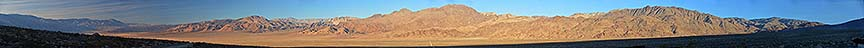 Panorama of the Saline Valley, November 16, 2014
