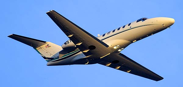 BBI Inc Cessna 525A N574BB, Phoenix Sky Harbor, December 22, 2014