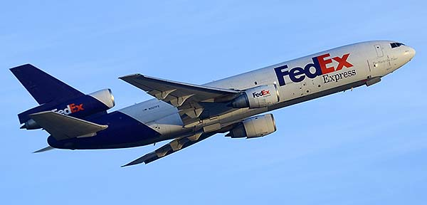 FedEx Express McDonnell-Douglas MD-10-30F N307FE, Phoenix Sky Harbor, December 22, 2014