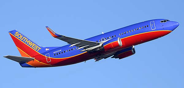 Southwest Boeing 737-3H4 N622SW, Phoenix Sky Harbor, December 22, 2014