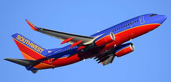 Southwest Boeing 737-7H4 N902WN, Phoenix Sky Harbor, December 24, 2014