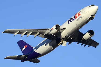 FedEx Express Airbus A300F4-605R N656FE, Phoenix Sky Harbor, December 24, 2014