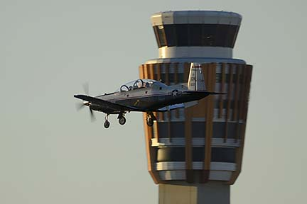 Beechcraft T-6A Texan 01-3622, Phoenix Sky Harbor, March 7, 2015