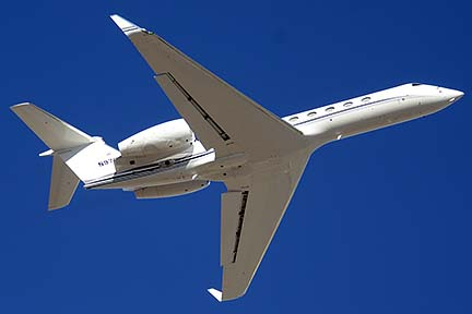Gulfstream G-IV-X N97FT, Phoenix Sky Harbor, January 3, 2015