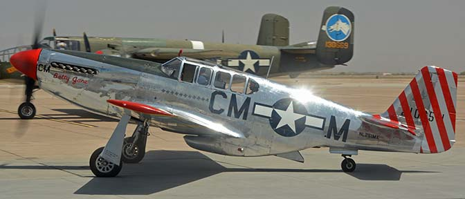 North American TP-51C-10 Mustang NL251MX Betty Jane