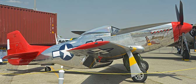 North American P-51D Mustang NL151BP Bunny, April 29, 2016