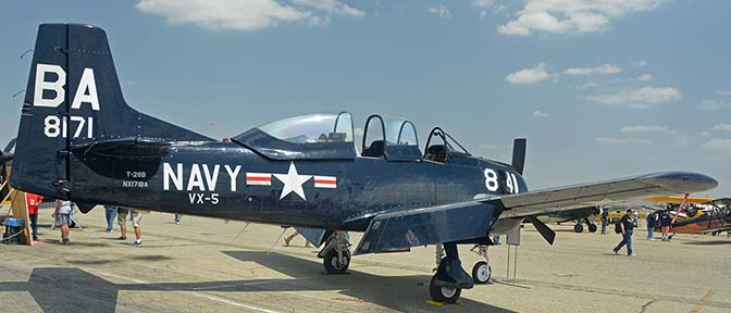 North American T-28B Trojan NX171BA, April 29, 2016