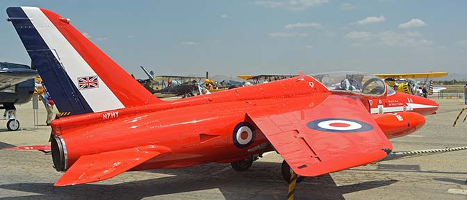 Folland Gnat T.1 N7HY, April 29, 2016