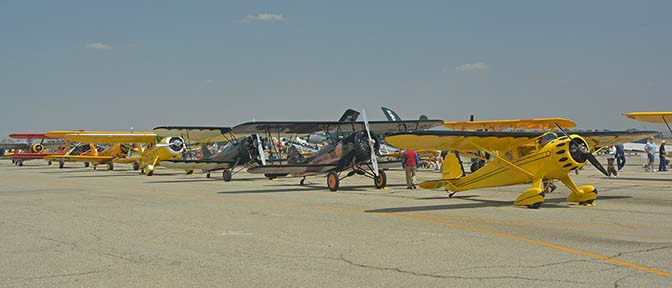 Planes of Fame Airshow at Chino, Static Displays, April 29-30, 2016