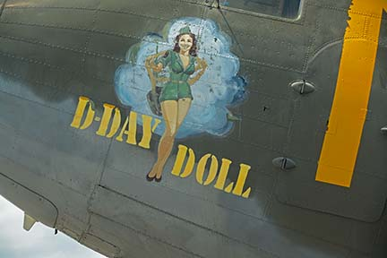 Douglas C-53D Skytrooper N45366 D-Day Doll, April 29, 2016
