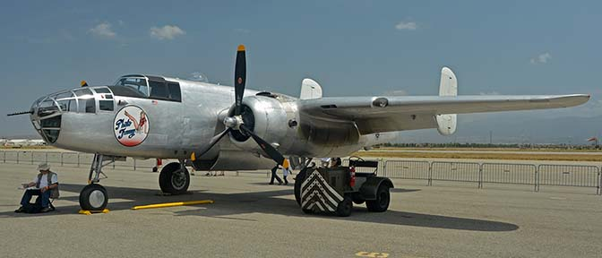 North American B-25J Mitchell N3675G Photo Fanny, April 29, 2016