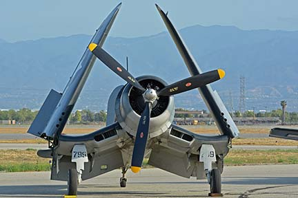 Vought F4U-1A Corsair NX83782, April 29, 2016