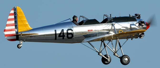 Ryan PT-22 (ST3KR) N48777 146, April 29, 2016
