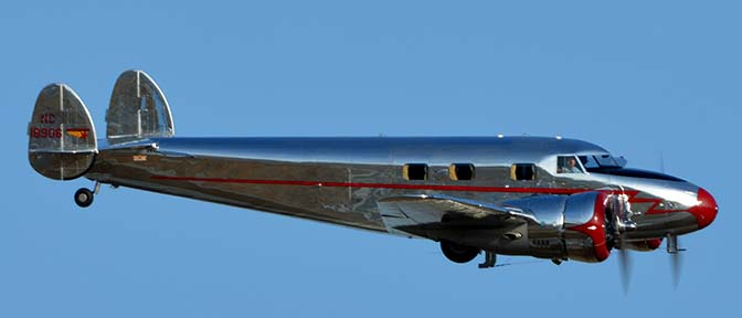 Lockheed 12A N18906 Electra Junior, April 29, 2016
