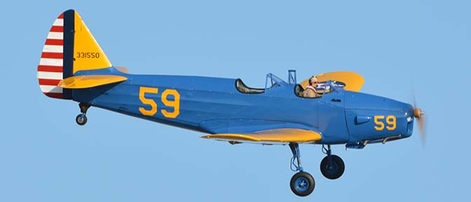 Fairchild PT-19A N11CM, April 29, 2016
