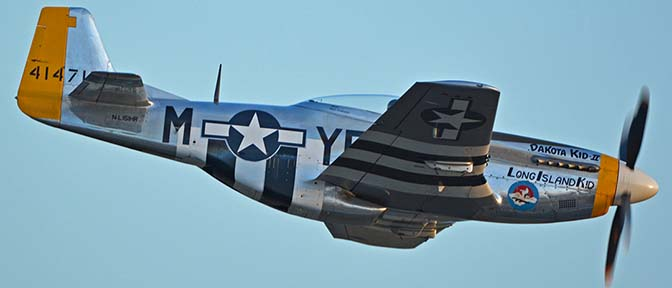 North American P-51D Mustang NL151HR Dakota Kid II/Long Island Kid, April 29, 2016