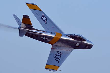 North American F-86F Sabre NX186AM, April 29, 2016